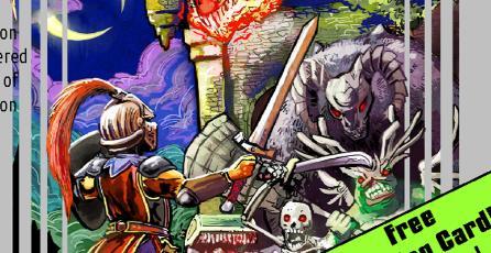 <em>Souls of Darkness</em>: El libro que reimagina a <em>Dark Souls</em> como juego de NES