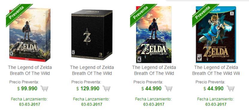 Los Primeros Precios De Juegos Y Accesorios De La Nintendo Switch En