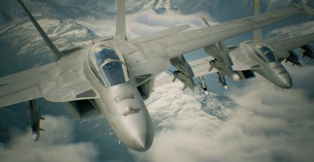 <em>Ace Combat 7</em> incluirá varias misiones para Realidad Virtual