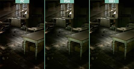 Comparativa gráfica de <em>Resident Evil 7</em>
