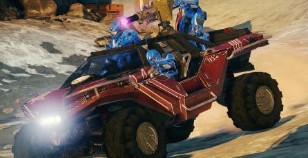 Recrean pista de <em>Mario Kart</em> en <em>Halo 5</em>
