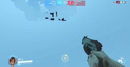 Glitch en Overwatch lanza a Dva al espacio exterior