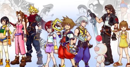 <em>Kindgom Hearts III</em> homenajea a <em>Final Fantasy VII</em> con nueva imagen