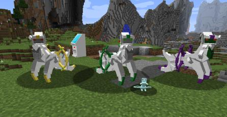 Fans crean juego completo de <em>Pokémon</em> dentro de <em>Minecraft</em>