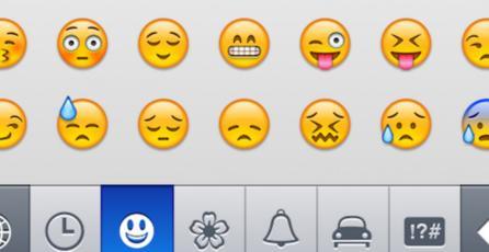 ¿Cuál es el emoticón que más usan los usuarios de Internet?