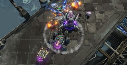 <em>Dropzone</em>, una interesante mezcla entre RTS y MOBA competitivo