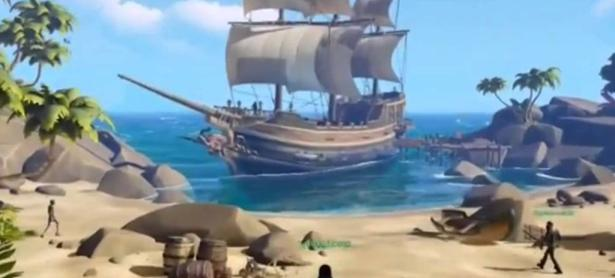 Video de <em>Sea of Thieves</em> muestra piratas, islas y mucho más