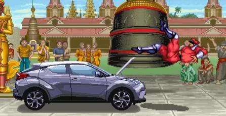 <em>Street Fighter</em>: M. Bison se enfrenta a un Toyota en nuevo comercial