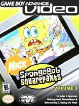GBA Video: SpongeBob SquarePants (Volume 3)