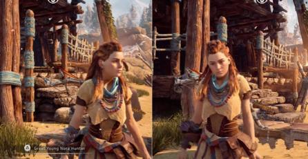 <em>Horizon: Zero Dawn</em> - Comparación gráfica entre PS4 y PS4 Pro