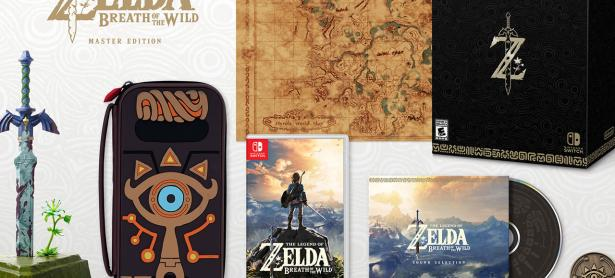 Ve el unboxing de la Master Edition de <em>The Legend of Zelda: Breath of the Wild</em>