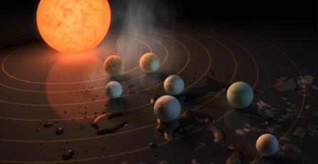 NASA descubre siete exoplanetas que podrían albergar vida