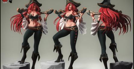 El Clip de League of Legends del día se lo lleva esta Miss Fortune con su PENTAKILL
