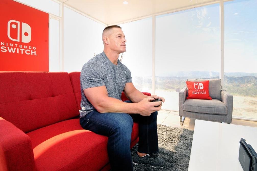 Así fue el evento promocional de Nintendo Switch con John Cena
