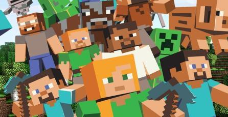 <em>Minecraft</em> tiene 55 millones de usuarios activos al mes
