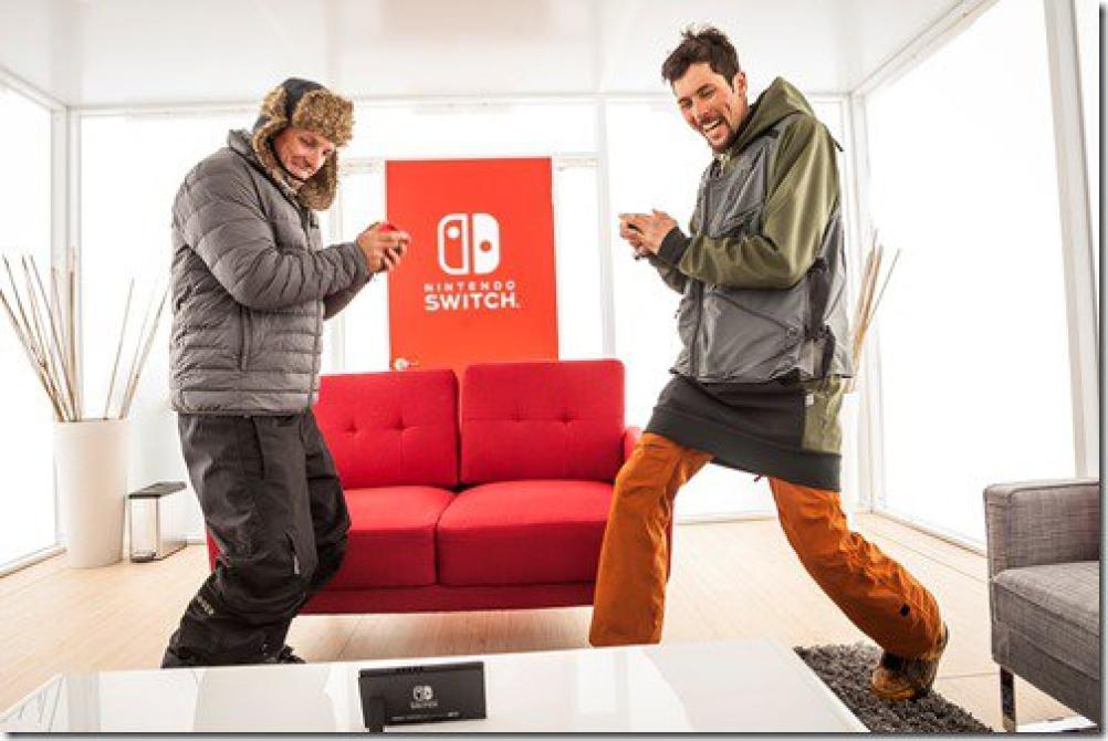 Nintendo Switch en Aspen, Colorado