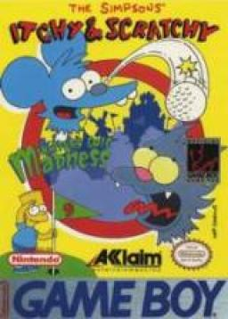 Itchy & Scratchy in Miniature Golf Madness