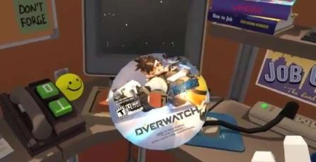 <em>Job Simulator</em> hace un homenaje a <em>Overwatch</em>