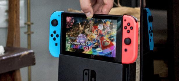 Aparece la primera pantalla azul de la muerte del Nintendo Switch