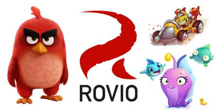 Rovio vende su estudio de animación y su editorial