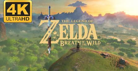 Mira como luce <em>Zelda Breath of the Wild</em> en PC a 4K