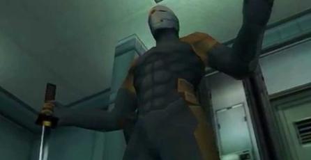 Mira este casco real del Cyborg Ninja de <em>Metal Gear Solid</em>