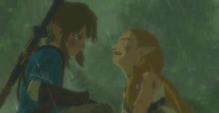 Personaje de <em>Zelda: Breath of the Wild</em> evita que te suicides en el juego