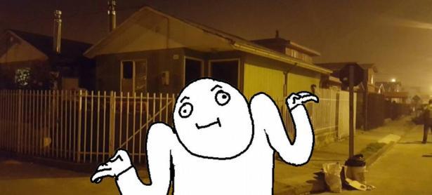 La casa embrujada de Puerto Montt resultó ser una farsa