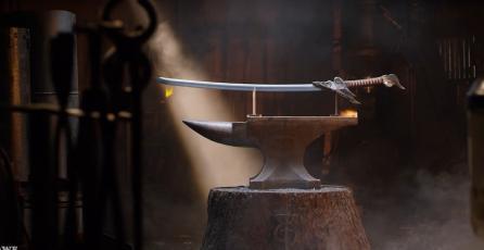 Popular canal de Youtube crea una replica perfecta de la espada de Yasuo