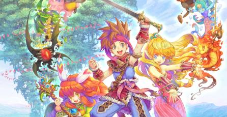 Anuncian colección de <em>Secret of Mana</em> para Switch