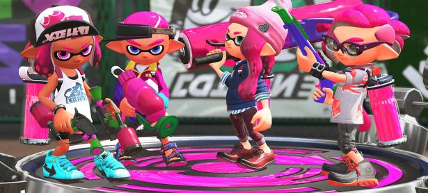 Estos son los horarios del Global Test Fire de <em>Splatoon 2</em>