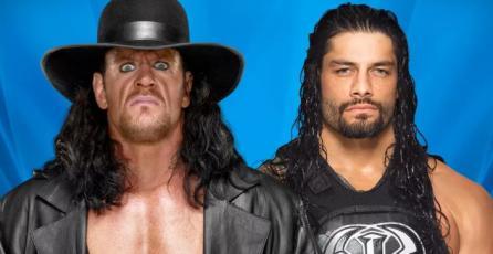 Ésta es la simulación de Wrestlemania en <em>WWE 2K17</em>