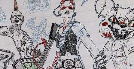 Conoce a 3 de los personajes de <em>Drawn to Death</em>