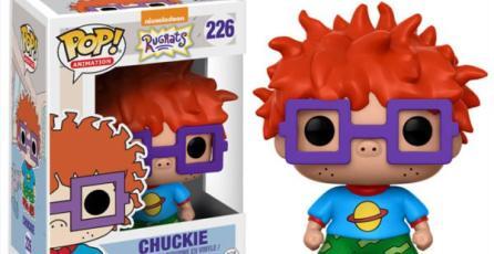 Así lucirá la nueva línea de <em>Funko Pop!</em> de Nicktoons clásicos