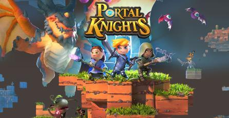 Ya puedes probar <em>Portal Knights</em> en PS4 y Xbox One