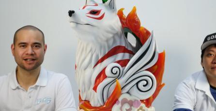 Checa este espectacular busto de Amaterasu de <em>Okami</em>