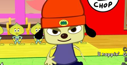 <em>PaRappa the Rapper</em> inspiró la creación de <em>Guitar Hero</em> y <em>Rock Band</em>