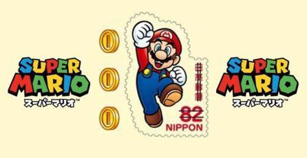 Conoce las estampillas postales de <em>Super Mario</em>