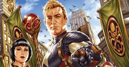 Fans de Capitán América queman copias de <em>Secret Empire</em> en repudio a su historia