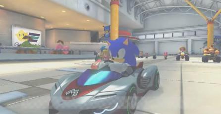 Modder añade a Sonic a <em>Mario Kart 8</em> y encaja perfectamente