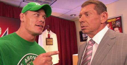 John Cena quiere a interpretar a Vince McMahon en su película biográfica