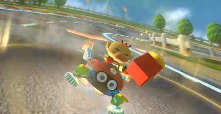 Modders añaden a Capitán Olimar en <em>Mario Kart 8</em> vía PC