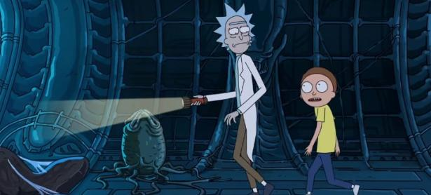 <em>Rick and Morty</em> promocionan <em>Alien: Covenant</em> en divertido nuevo corto