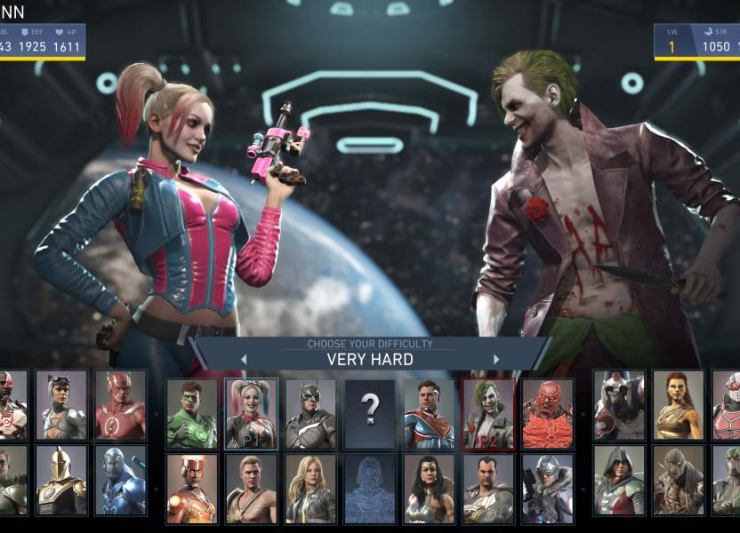 Elige entre 28 peleadores del universo DC