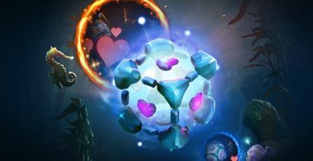 Nuevo arcana de IO en <em>Dota 2</em> es literalmente un Companion Cube de <em>Portal</em>
