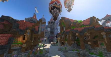 <em>Wynncraft</em> es un completo MMORPG disponible dentro de <em>Minecraft</em>