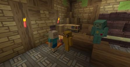 Contenidos de <em>Hora de Aventura</em> llegarán a <em>Minecraft</em>