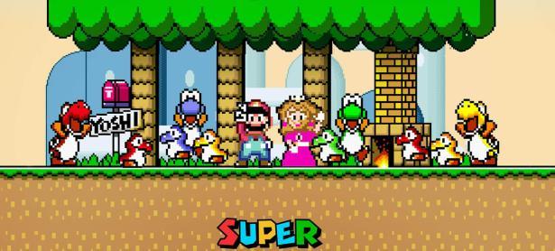 Jugador terminó <em>Super Mario World</em> sin ver