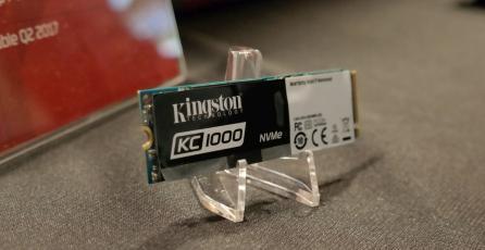 Nuevo SSD de Kingston es hasta 40 veces más rápido que los discos actuales