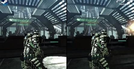 Comparativa gráfica entre <em>Vanquish</em> en PC vs PS3